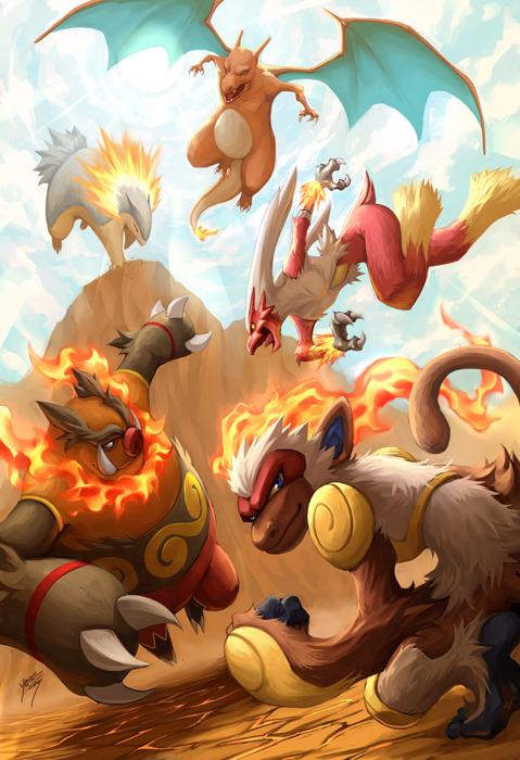 Para os amantes do fogo complexo geek - Image de pokemon ...