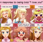princesa zelda amor