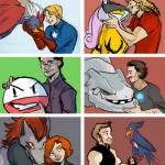 vingadores tivessem pokemons
