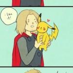 thor pikachu