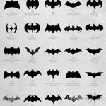 evolução do logo do batman