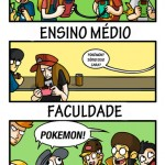 pokemon faculdade