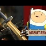 Forjando a Espada do Finn de Hora de Aventura
