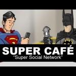 Se os super-heróis usassem redes sociais