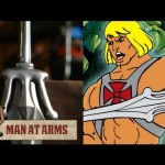 Forjando a espada do He-Man