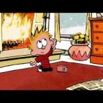 Como seria uma animação de Calvin & Haroldo?