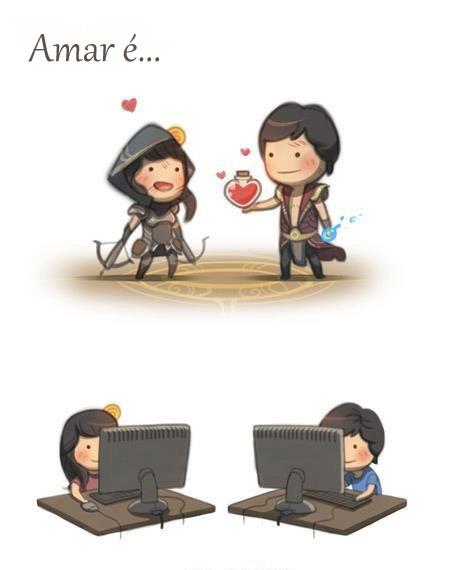 amor é