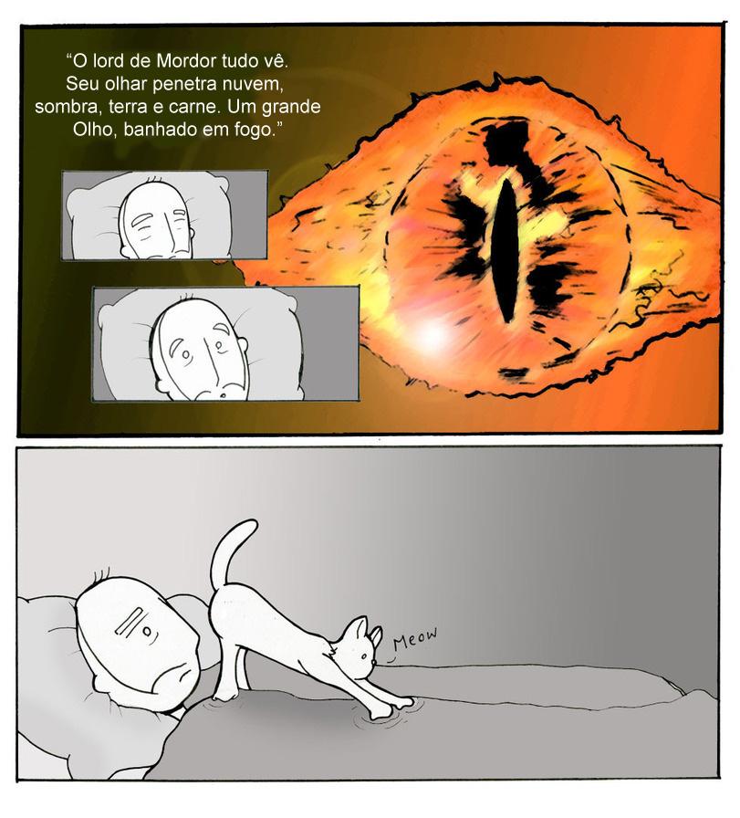 gato sauron
