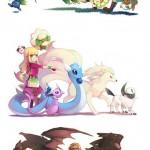 hyrule pokemons