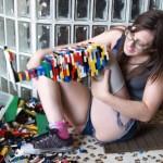 E você reclamava de pisar em Lego
