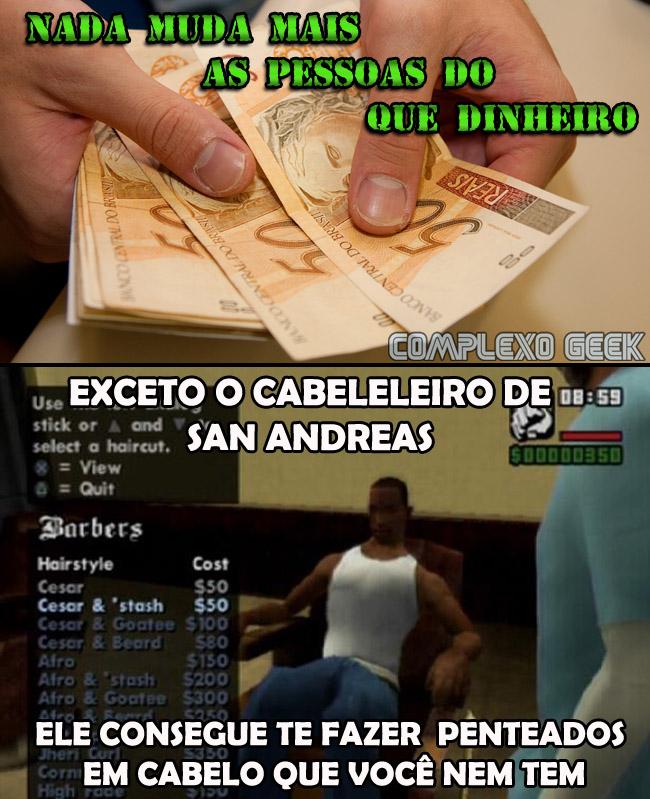 0 dinheiro