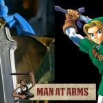 O Herói ganha a sua arma, a Master Sword foi forjada!!!