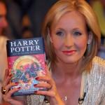 J.K. Rowling, autora da série Harry Potter