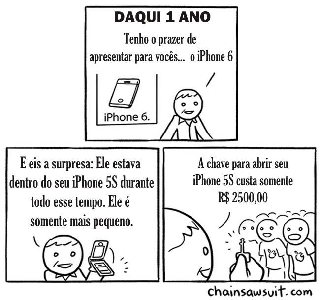 0 a novo iphone