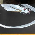 E é assim que um asiático desenha um dragão
