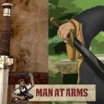 Forjando a espada de Sokka, de Avatar