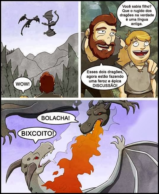 0 a discussão dragões