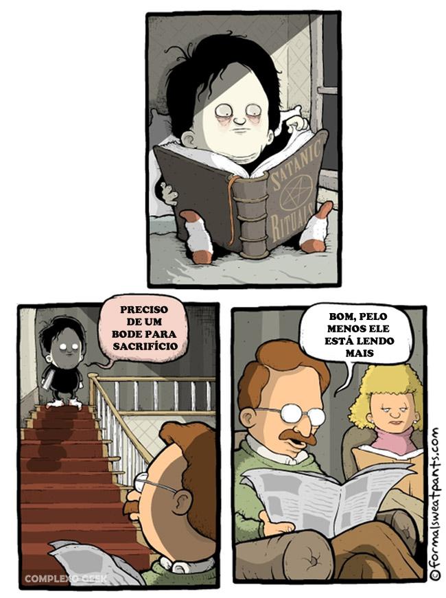 0 a ler é muit