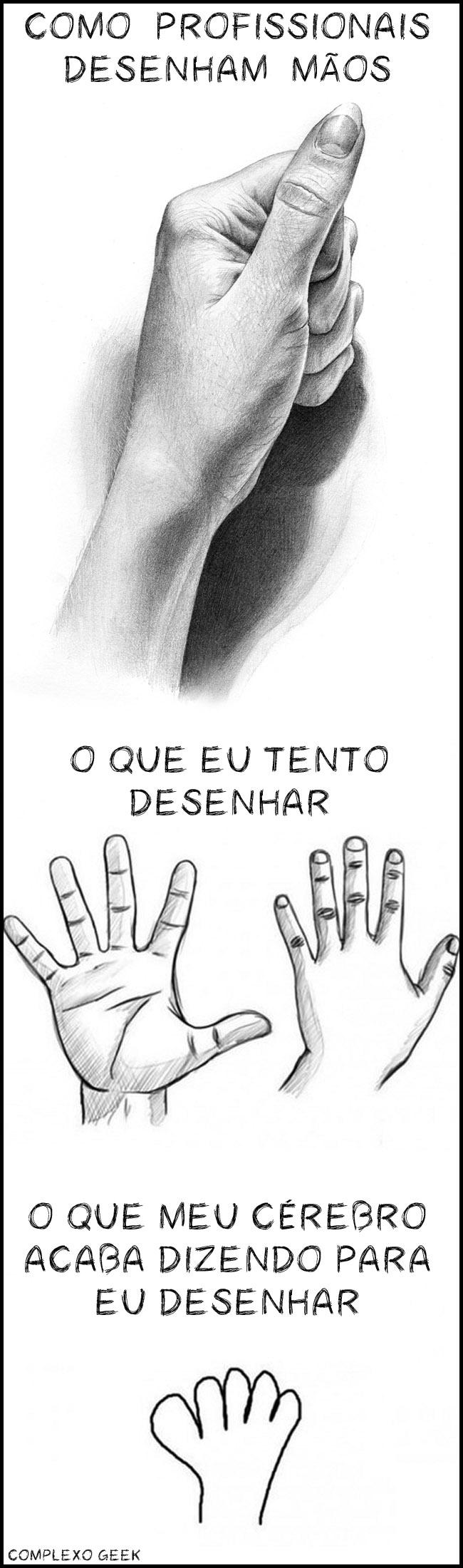 0 a mãos