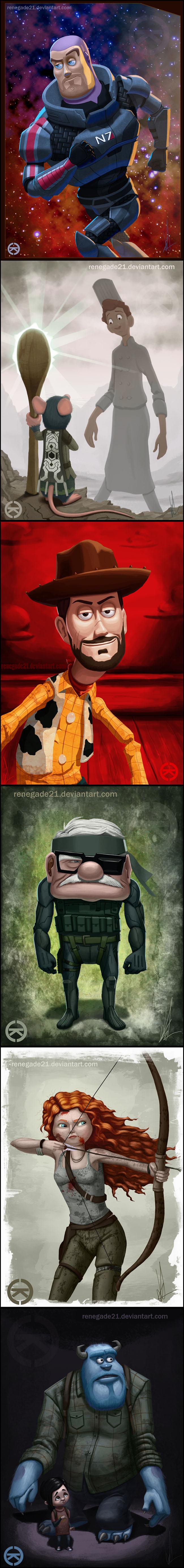 0 a pixar games