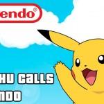 Pikachu passa trote na própria Nintendo