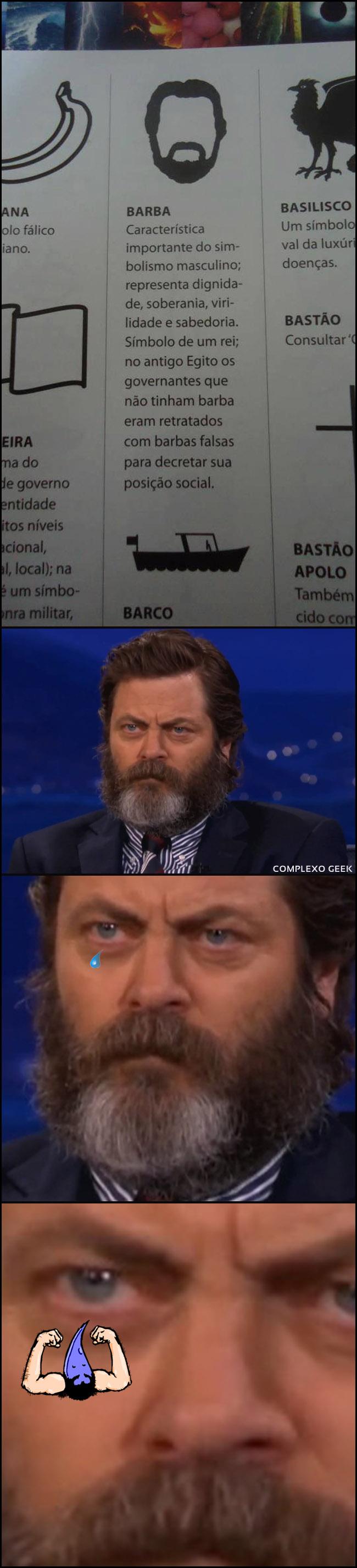 0 a barba vi