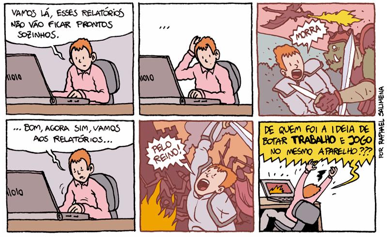 0 a jogo e trabalho