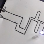 Fazendo circuitos (que funcionam) com papéis e lápis
