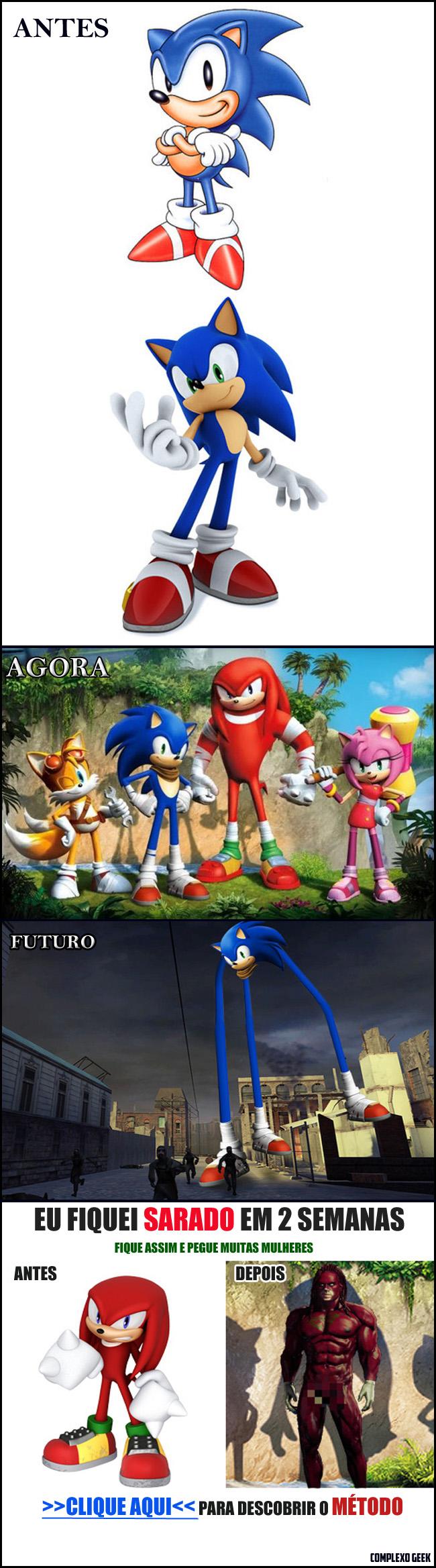 Sonic o que fizeram com você