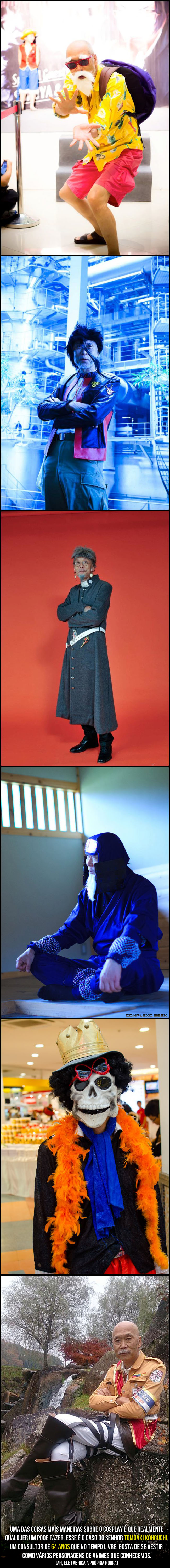 5 idade cosplay