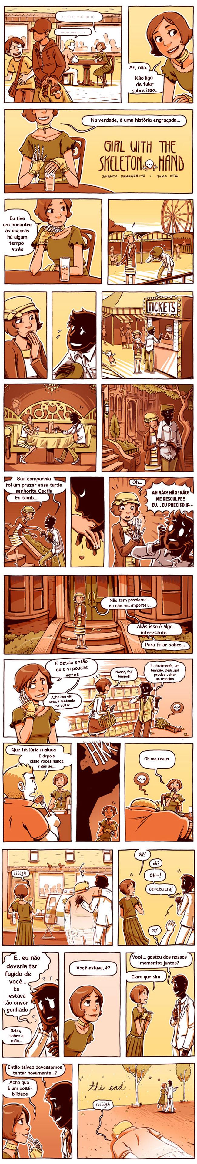 0 mão de esqueleto parte 1