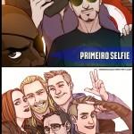 1 selfie vingadores