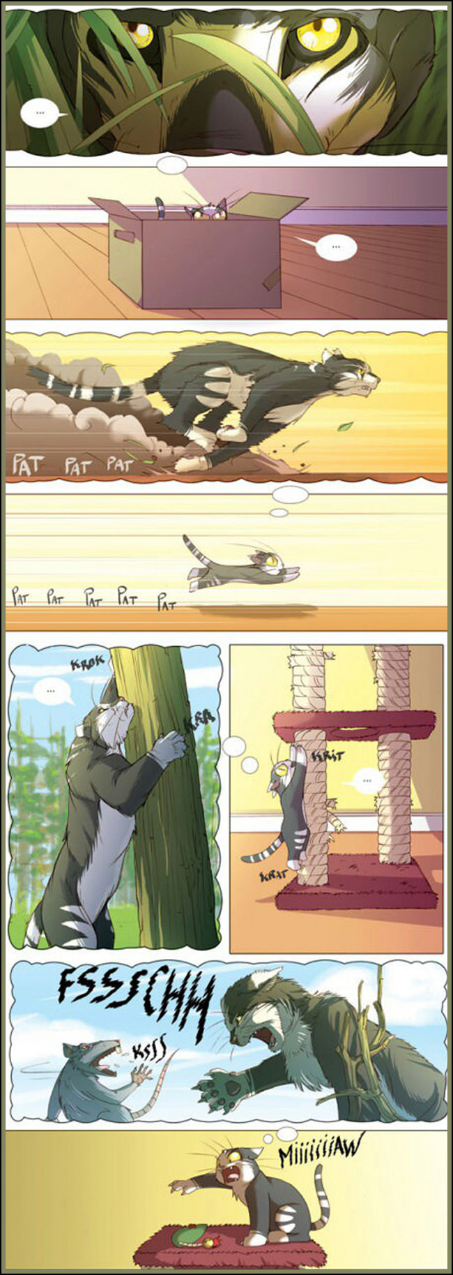 4 imaginação felina