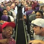 Você está em um avião e de repente AAAAAAH TSU YENIAAH BABADI DIBABA