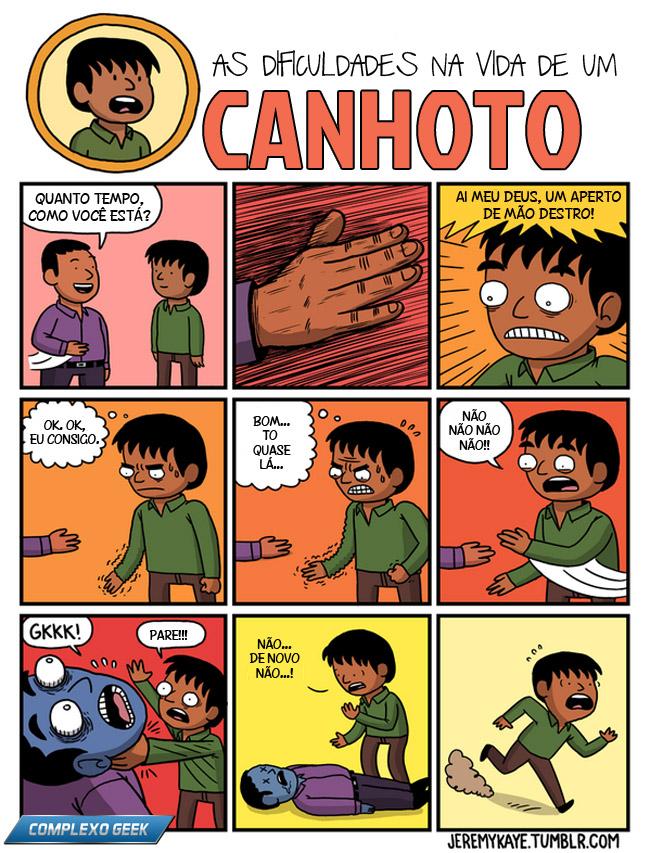 1 canhoto