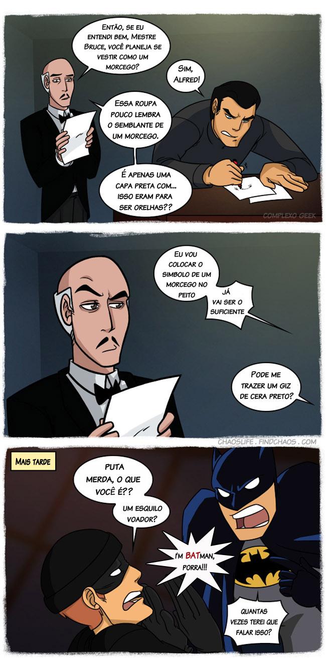 Roupa de Morcego