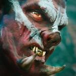 Nada como um banho de sangue Orc em um trailer live-action