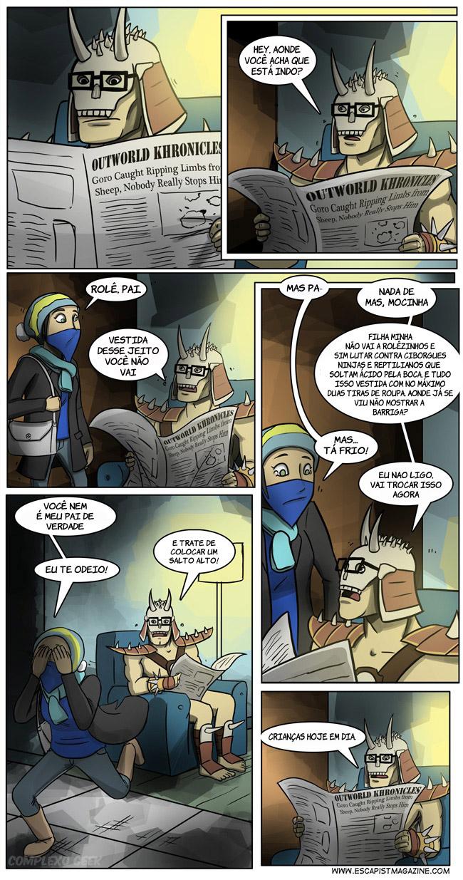0 Pai Mortal Kombat