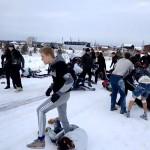 Alguns Russos andaram assistindo Clube da Luta e Laranja Mecânica demais