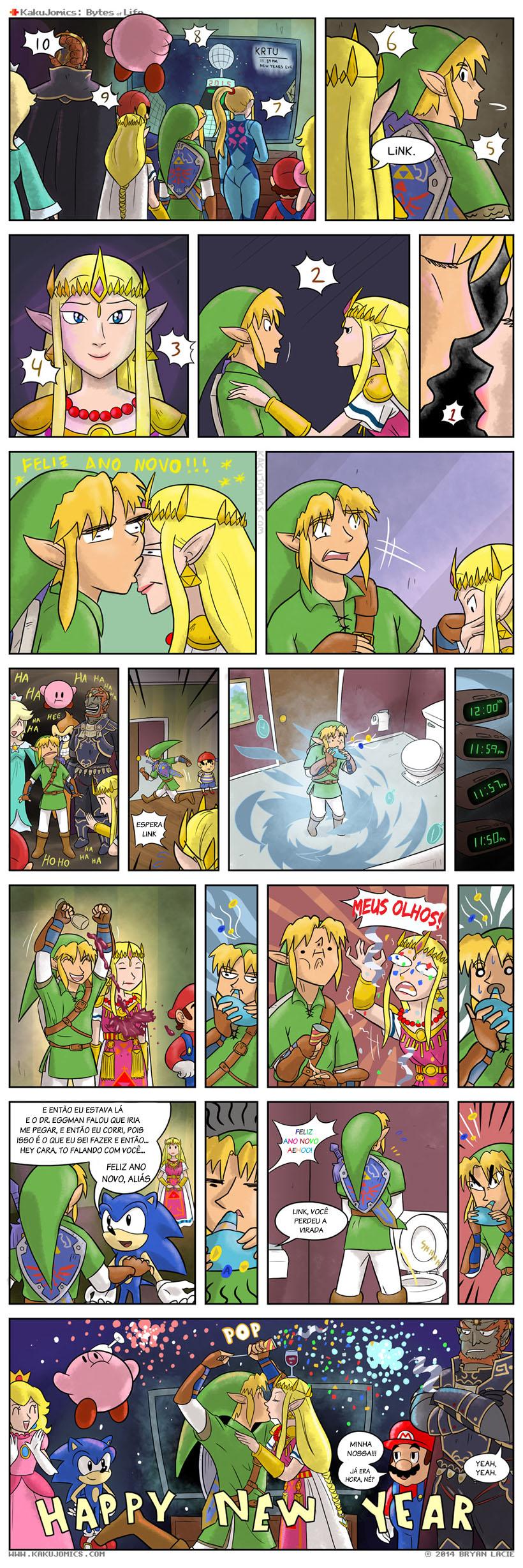 Link feliz ano novo