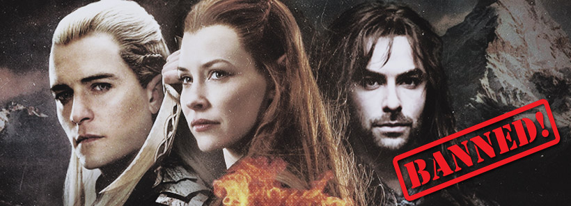 Tauriel and Kili and Legolas