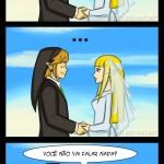Link não pode se casar