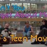 Um tributo aos filmes adolescentes dos anos 80