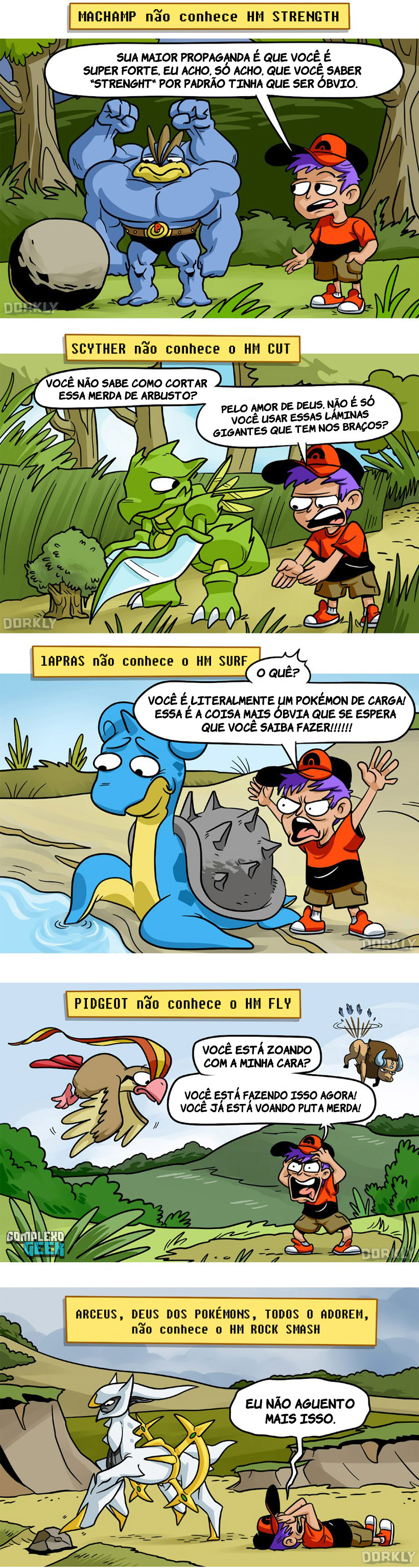 0 HM Pokemon