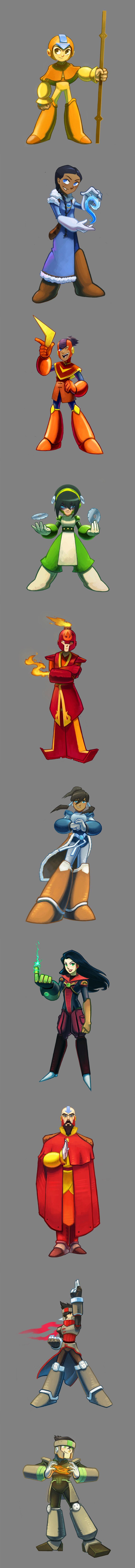 Avatar Megaman