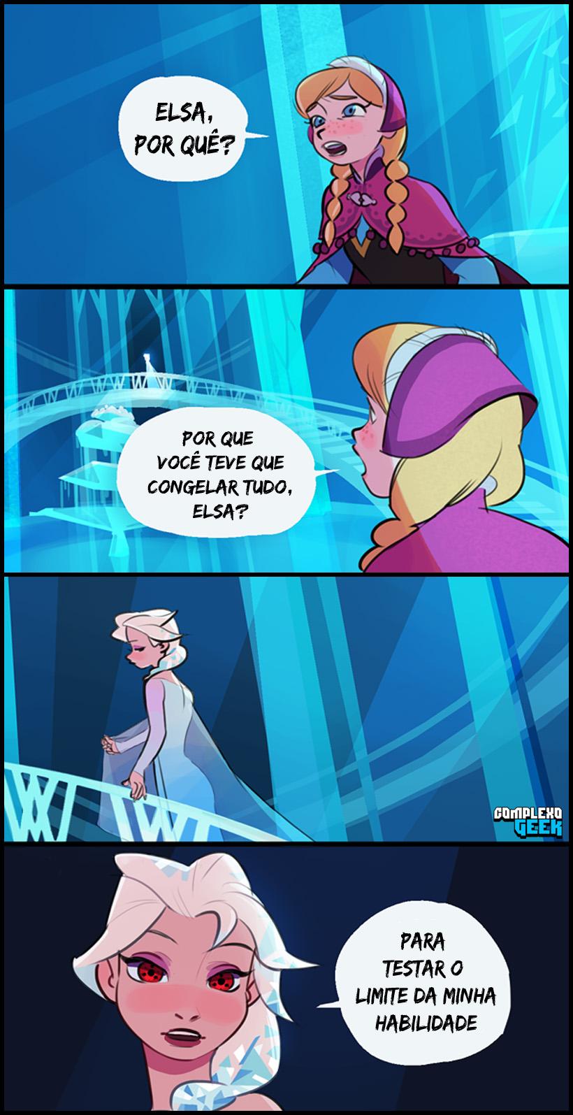 Essa outra versão de Frozen