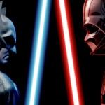 Como seria uma luta entre Darth Vader vs Batman
