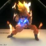 O Kamehameha de Goku se torna real com esse display holográfico