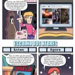 Filmes de Super Heróis Antes e Agora