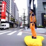 A maneira correta de usar um Hoverboard – Transforme ele na Nuvem Voadora do Goku